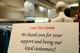 Lose the store lease concepts of closing business