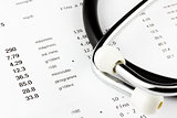 Exam value with stethoscope