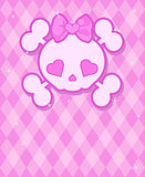 Cute Skull background
