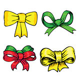 bows and ribbons