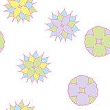 semless pastel flowers