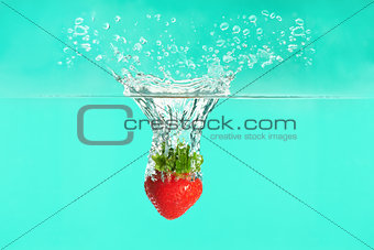 Strawberry drop!