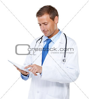 I have your medical history here!