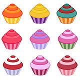 Cupcake set