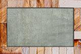 Stone brick frame