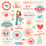 Valentine`s Day set