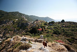 Ruins of Kastro, Skiathos