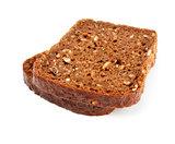 grain bread slices