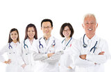 Asian medical team