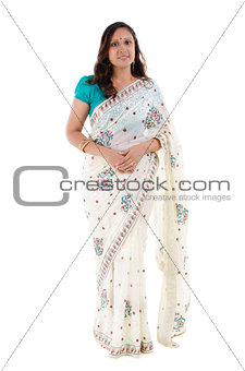 Full body Indian woman