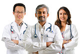 Multiracial doctors