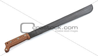 Machete with Wooden Handle