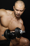 Muscles and Dumbbells