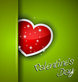 Elegant Valentine&#39;s Day background 