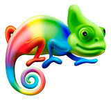 Rainbow chameleon