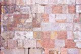 Stone and brick wall background
