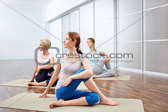 Group yoga sessions