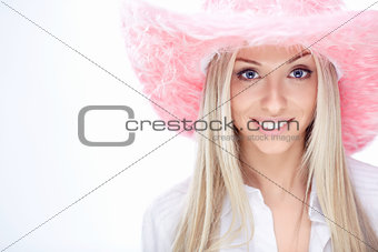Girl in a hat