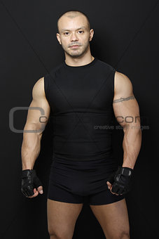 Muscles and Gym Gloves