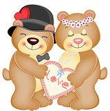 Love Heart Teddy Bears