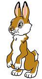 cartoon rabbit