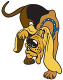 cartoon bloodhound