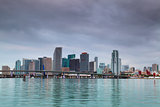 Miami Skyline.