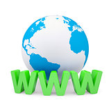 WWW and the earth