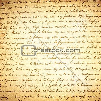 Old Letter Background