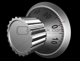knob of combination