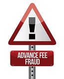 advance fee fraud concept