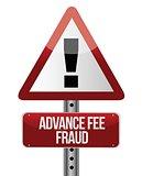 advance fee fraud concept