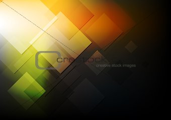 Abstract technical vector design