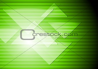 Green abstract technical background