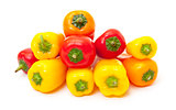 Heap Fresh Bell Peppers