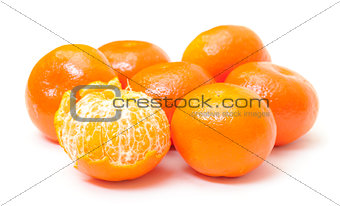 Ripe Tasty Tangerines
