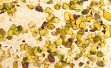 Halva with pistachios