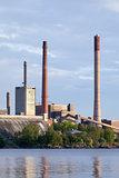 Closing of Factories and Smokestacks