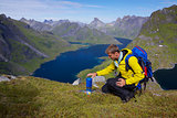Lofoten mountaineering