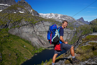Backpacking in Norway