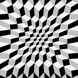 Abstract op art