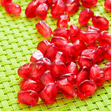 seeds of pomegranate fruit