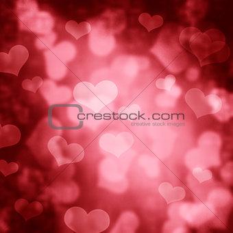 Hearts Bokeh
