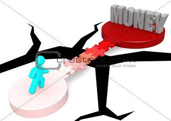 Puzzle bridge to money