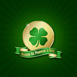 St. Patricks Day Coin