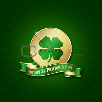 St. Patrick´s Day Coin