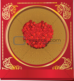 Card Russian Carnival
