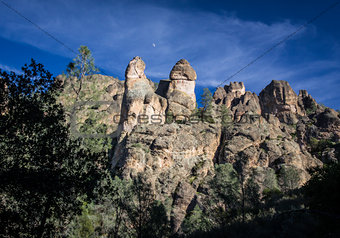 Pinnacles National Monument in California, USA
