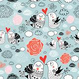 texture of love birds