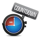 watch countdown sign